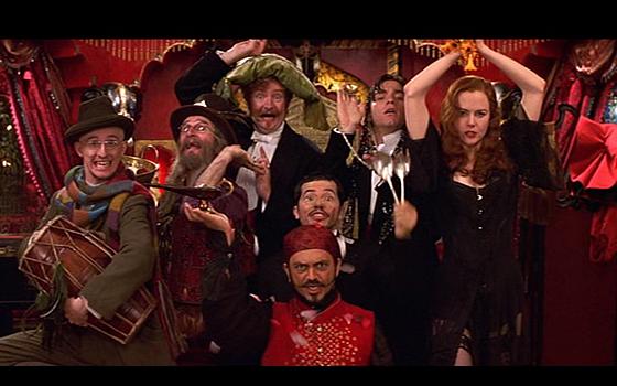 C'est parfois aussi subtil que la pièce de théâtre dans Moulin Rouge ! De Baz Luhrmann.