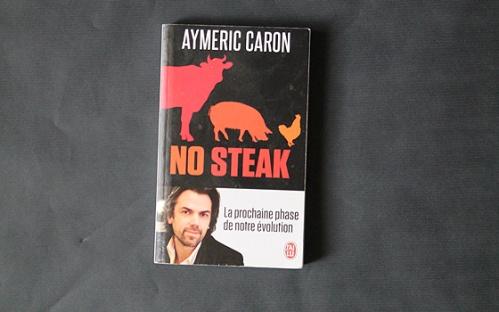 """Le très bon livre """"No steak"""" et son sous-titre qui met un petit malaise en société"""