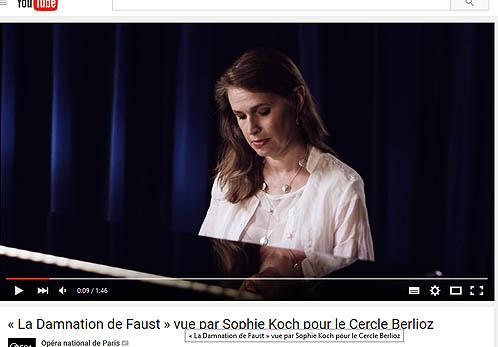Sophie Koch, ayant joué Marguerite.